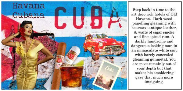 Havana Cubana Luxury Soy Wax Tart 30hr