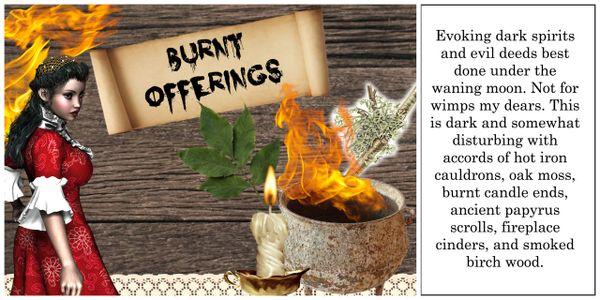 Burnt Offerings Luxury Soy Wax Tarts 30hr