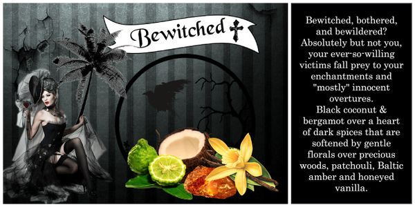 Bewitched Luxury Soy Wax Tart 30hr