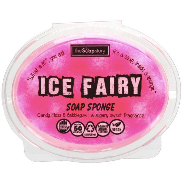 Ice Fairy Soap Sponge