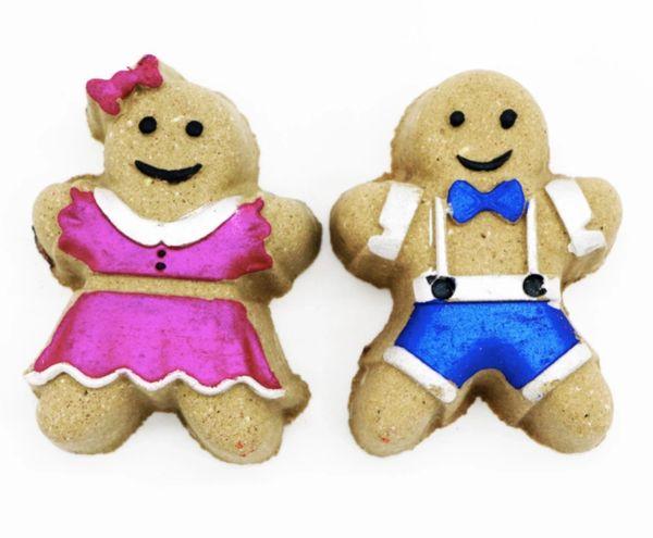 Gingerbread Boy or Girl Bath Bomb