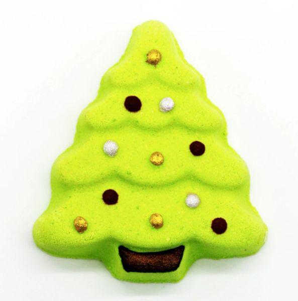 Christmas Tree Bath Bomb