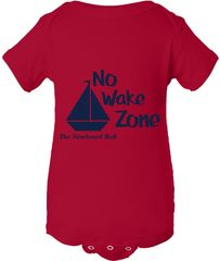 No Wake Zone Onesie