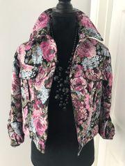 Eclectic brocade floral jacket