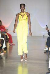 Yellow Lace Jumpsuit