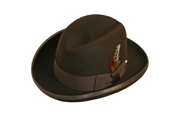Deluxe Homburg in Fall Brown #NHT25-99