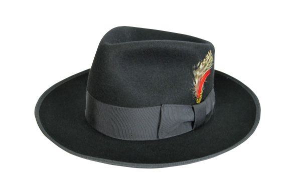 Zoot Fedora Hat in Black #NHT19-01B