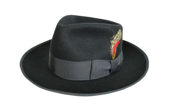 Zoot Fedora Hat in Black #NHT19-01B