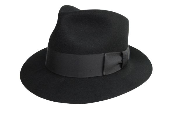 New Jack Fedora Hat in Black #NHT22N-01