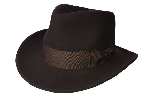 Special Raider Fedora Hat in Fall Brown #NHT35-99