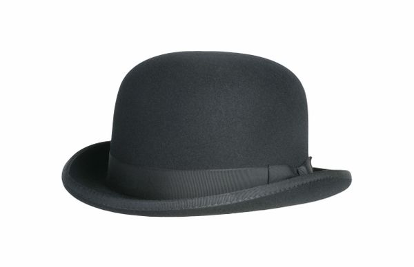 Classic Derby Hat in Black #NHT03-01