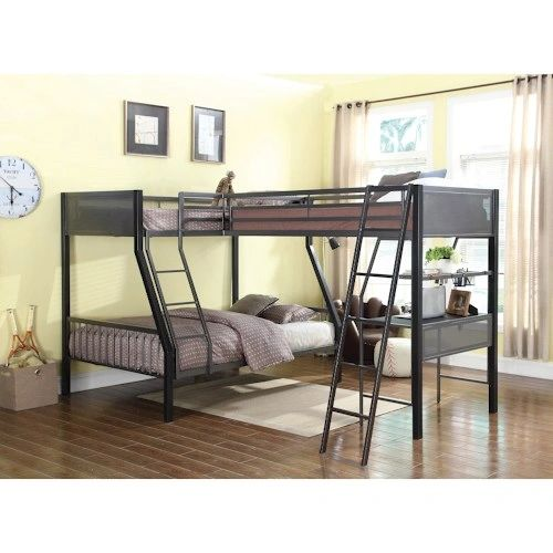 Twin Loft Bed.Twin Over Full Bunk Beds With Twin Loft Bed And Desk Ksw460391 392