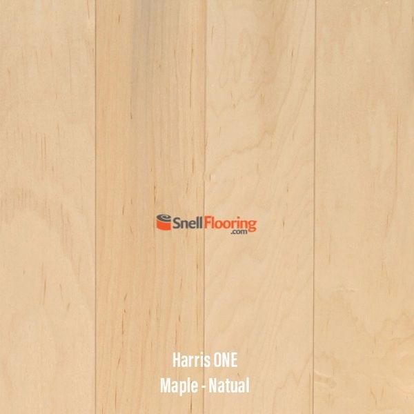 "Harris One Engineered MAPLE 3/8"" x 3"" @ $3.99 sq ft"