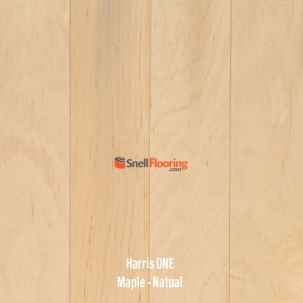 "Harris One Engineered MAPLE 3/8"" x 5"" @ $3.99 sq ft"