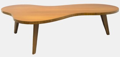biomorphic table, table, mid-century table, mid-century modern table, cocktail table, Widdicomb