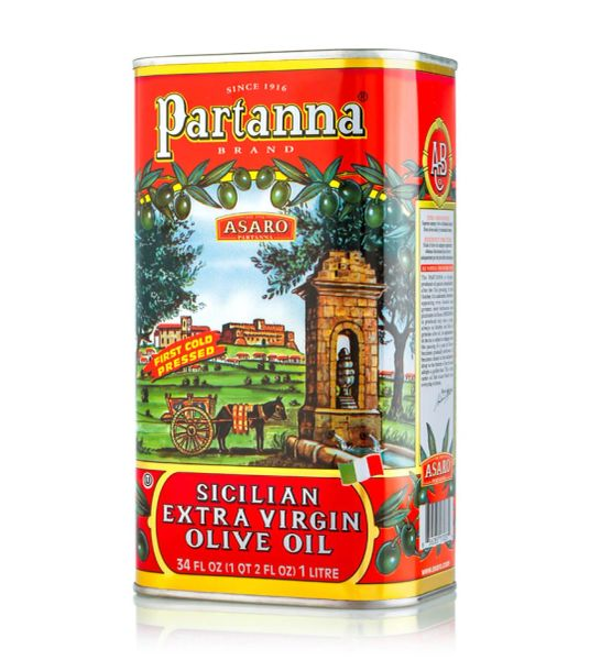 Partanna Extra Virgin Olive Oil | 1L - 34 FL OZ