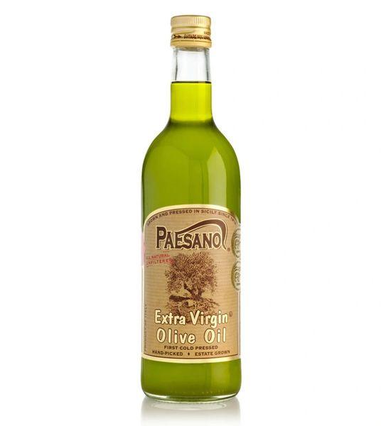 Paesanol   Unfilterd Extra Virgin Olive Oil   750mL (25 FL OZ) Harvest 2018/2019   B.B.10.18.21