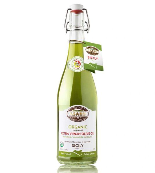 Asaro Farms | Organic Unfiltered Extra Virgin Olive Oil | 750mL (25 FL OZ) Harvest 2018 B.B. 04/2021