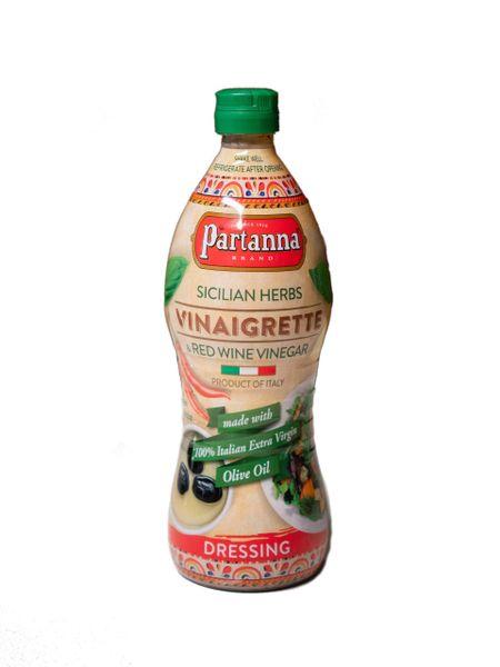 Partanna Vinaigrette | Sicilian Herbs & Red wine Vinegar | 24 fl oz (710mL)