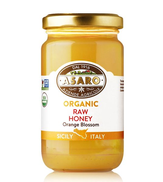 Organic, Raw Orange Blossom Honey | 7 oz (190g)