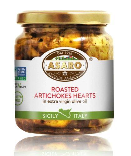 Asaro Farms | Roasted Artichoke Hearts | 10 oz (280g)