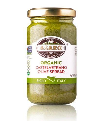Asaro Farms   Organic, Castelvetrano Green Olives Spread   7 oz (190g)