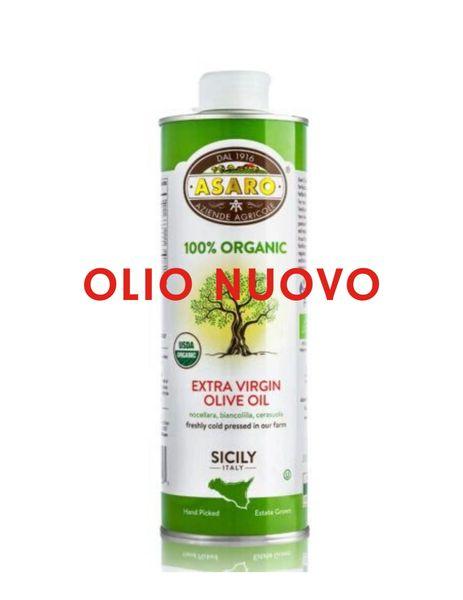 Asaro Farms   Organic Extra Virgin Olive Oil   750mL (25 FL OZ) OLIO NUOVO 2019/2020