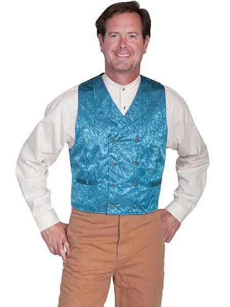 WahMaker Silk Jacquard Vest
