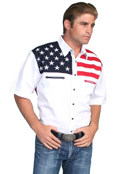 Patriot Stars & Stripes Short Sleeve Shirt