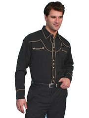 Legends Solid with Contrast Piping Shirt