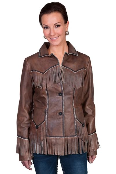 Lamb Fringe Jacket