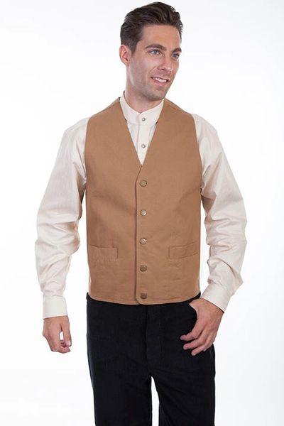 Contemporary Durable Canvas Vest