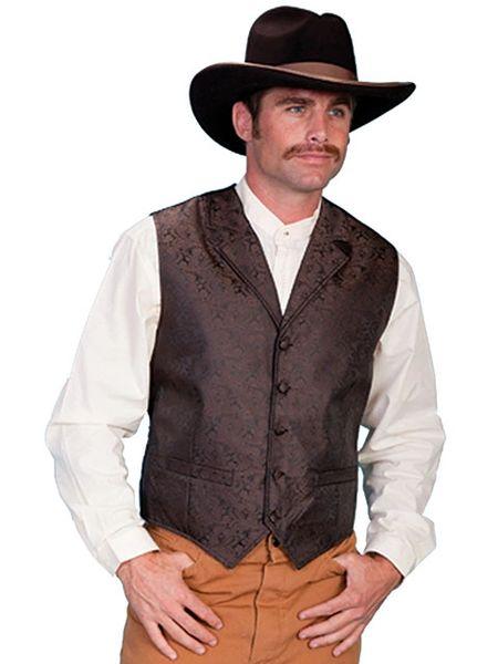 Classic Paisley Vest