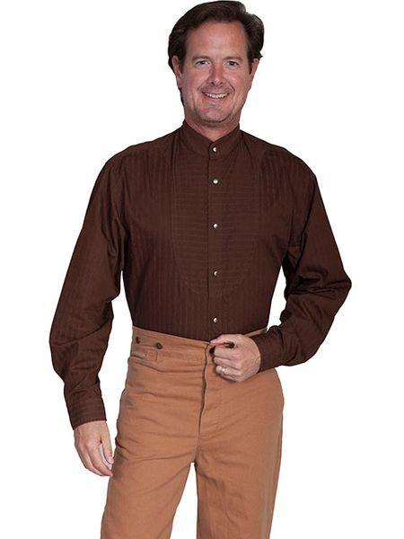 WahMaker Classic Band Collar Shirt