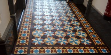 Victorian minton floor cleaning company
