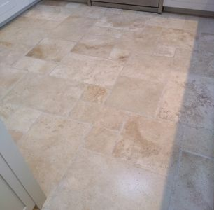 Travertine floor cleaning in Nottinghamshire
