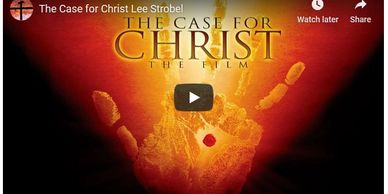 "Two  videos by Lee Strobel on the ""The Case for Christ""."