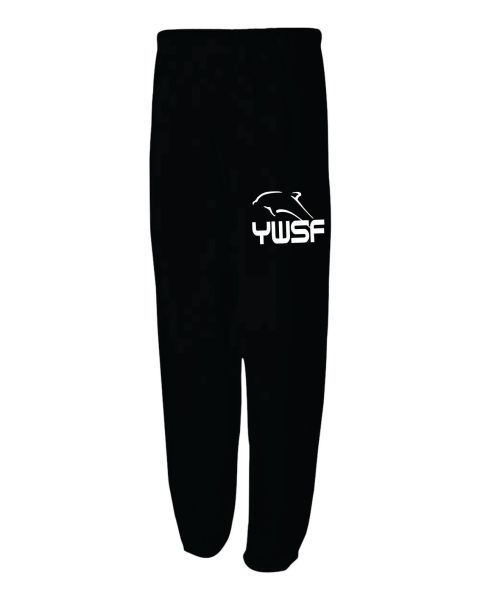 UNISEX BLACK SWEATPANT