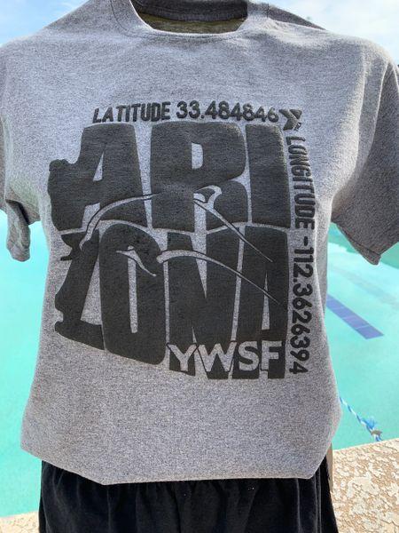 YWSF Latitude/Longitude HOODIE