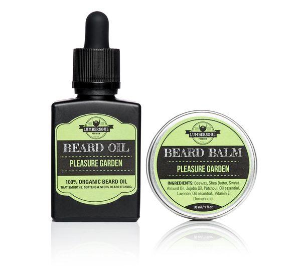 PLEASURE GARDEN Set | Beard Oil + Beard Balm