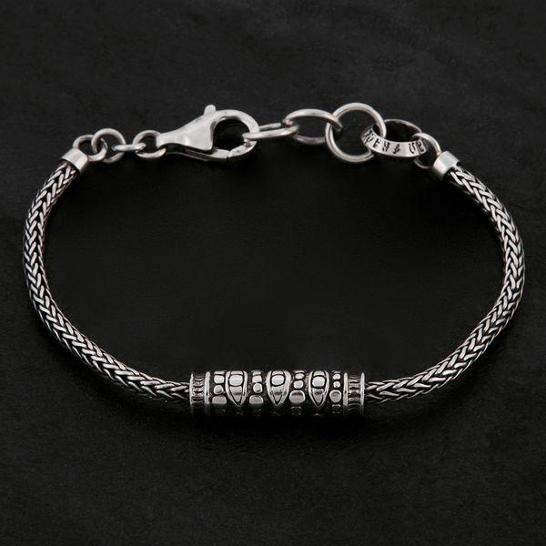 01. Geo-001 - Sterling Silver Bracelet