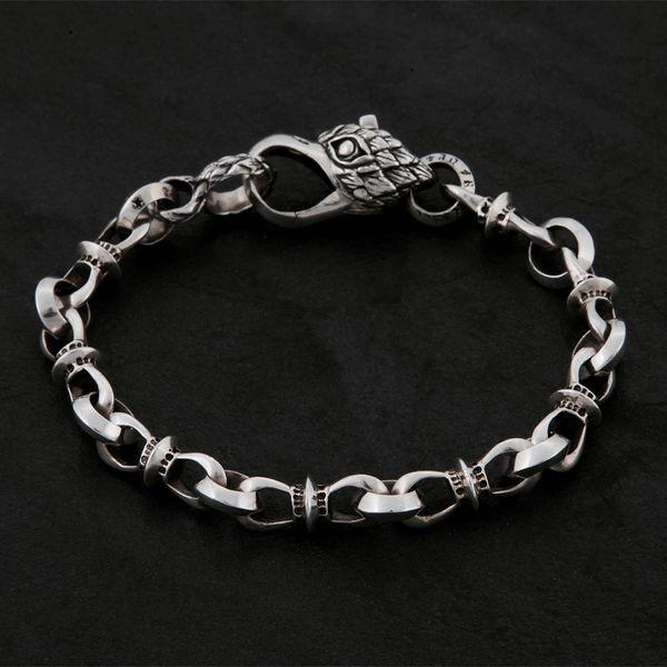 08. Geo-008 - Sterling Silver Bracelet