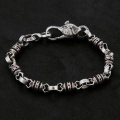 09. Geo-009 - Sterling Silver Bracelet
