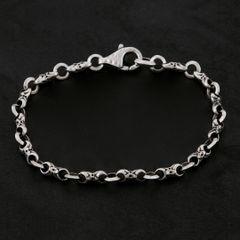 12. Geo-012 - Sterling Silver Bracelet