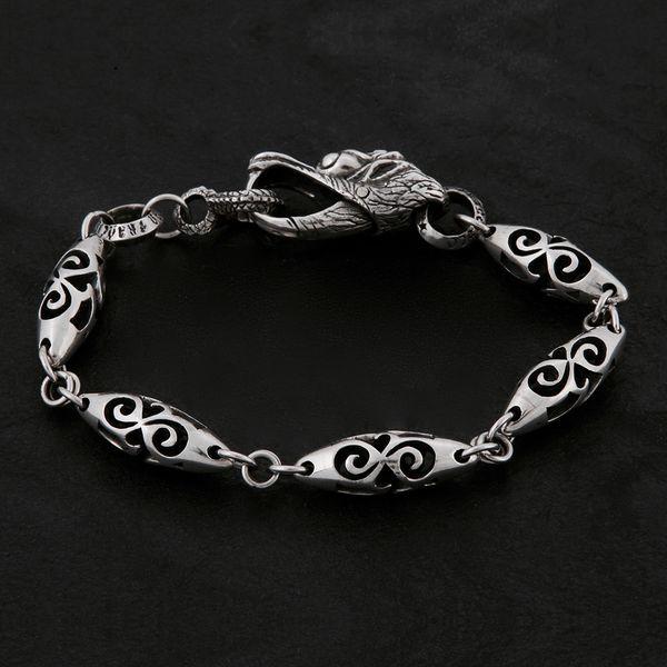 13. Geo-013 - Sterling Silver Bracelet
