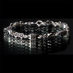 19. Ace of Spades - Sterling Silver Bracelet