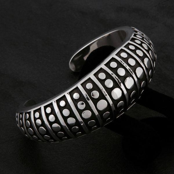40. Geo-040 - Sterling Silver Bracelet
