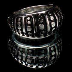 43. Geo 3 - Sterling Silver Ring