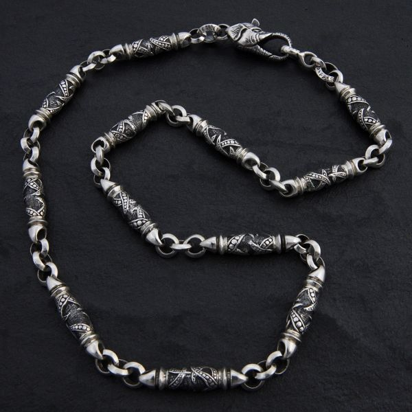 06. Geo-006 - Sterling Silver Necklace