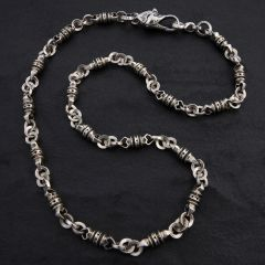 09. Geo-009 - Sterling Silver Necklace